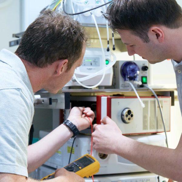 Reparatur und Prüfservice von medizinischen Geräten