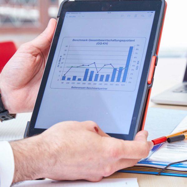 Kostenreporting und Leistungsdokumentation für medizintechnische Geräte