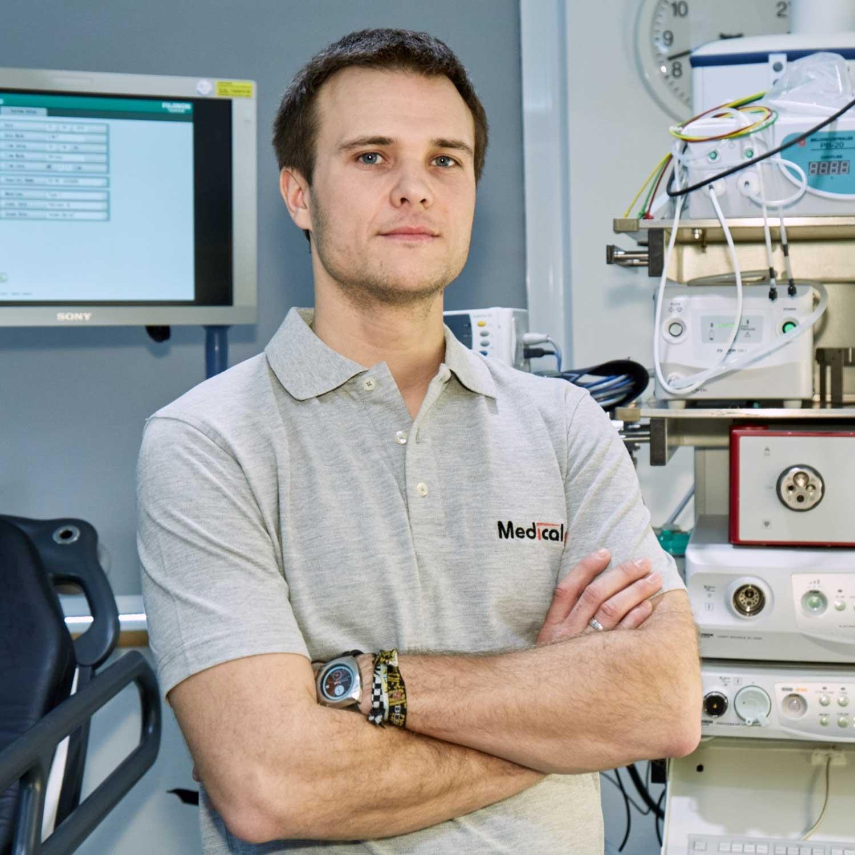 Techniker von Medicalpart - Betreuung Medizintechnik