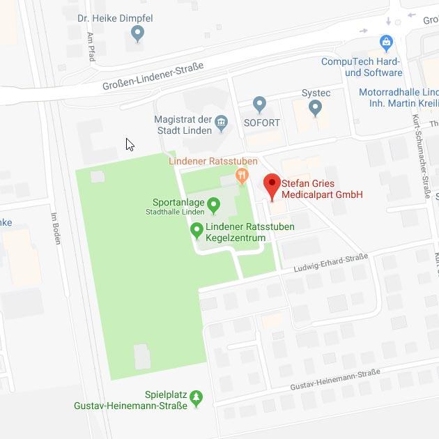 Medicalpart auf Google Maps